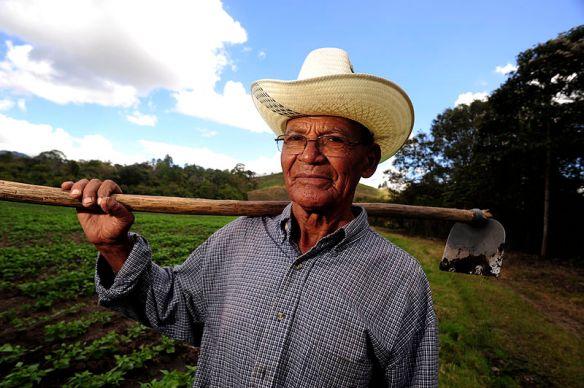 Nicaraguaanse boer met chapi